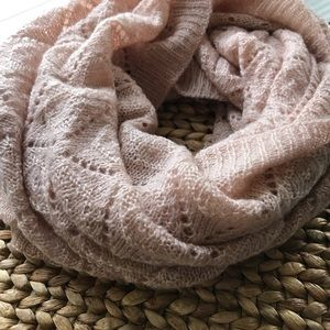Beautiful unique knit circle scarf